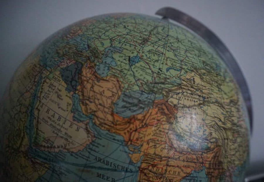 World trip - Globe