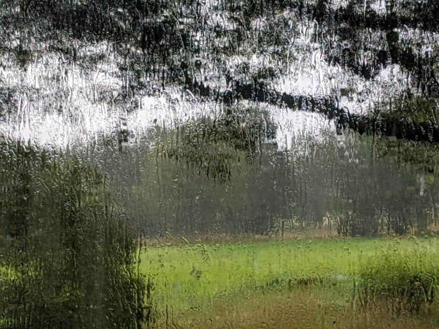 Rain in Sömna